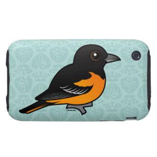 Birdorable Baltimore Oriole Tough iPhone 3 Case