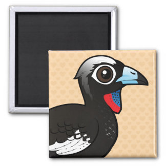 Birdorable Black-fronted Piping Guan Magnet