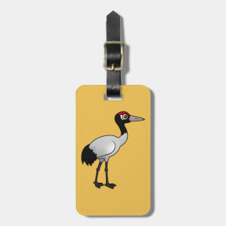 Birdorable Black-necked Crane Luggage Tag