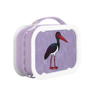 Birdorable Black Stork Lunch Box