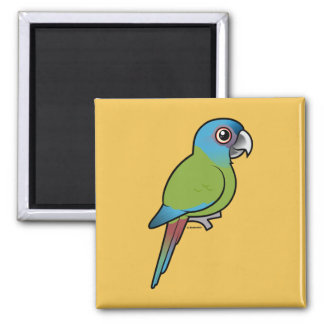 Birdorable Blue-headed Macaw Magnet