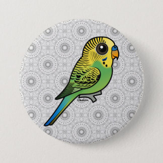Birdorable Budgerigar 7.5 Cm Round Badge