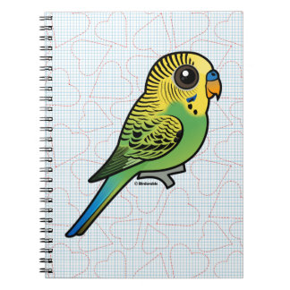 Birdorable Budgerigar Notebooks