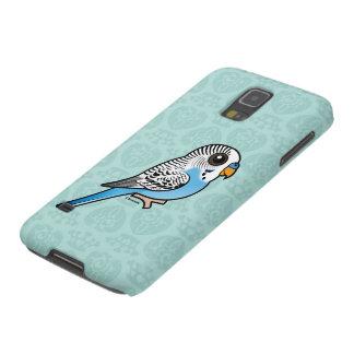 Birdorable Budgie Blue Galaxy S5 Covers