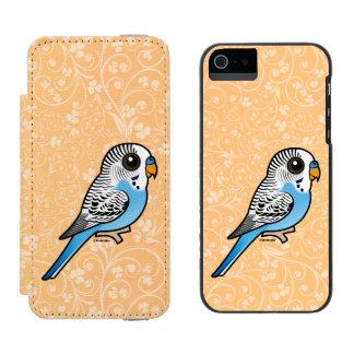 Birdorable Budgie Blue Incipio Watson™ iPhone 5 Wallet Case