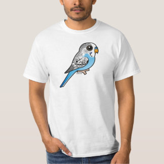 Birdorable Budgie Blue T-Shirt