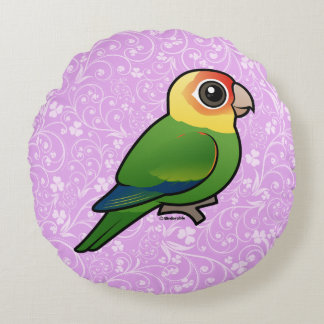 Birdorable Carolina Parakeet Round Cushion