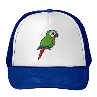 Birdorable Chestnut-fronted Macaw Cap