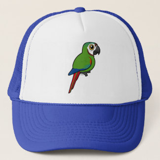 Birdorable Chestnut-fronted Macaw Trucker Hat