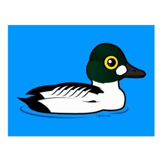 Birdorable Common Goldeneye Postcard