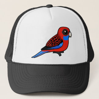 Birdorable Crimson Rosella Trucker Hat