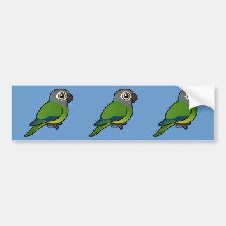 Birdorable Dusky-headed Conure Bumper Sticker