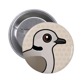 Birdorable Eurasian Collared Dove 6 Cm Round Badge