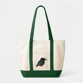 Birdorable European Starling Tote Bag
