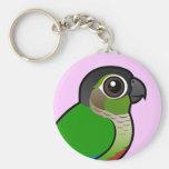 Birdorable Green-cheeked Conure Keychain