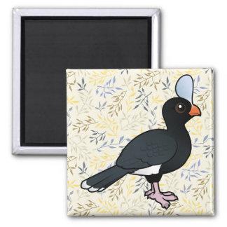 Birdorable Helmeted Curassow Magnet