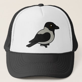 Birdorable Hooded Crow Trucker Hat
