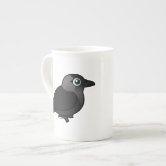 Birdorable Jackdaw Tea Cup