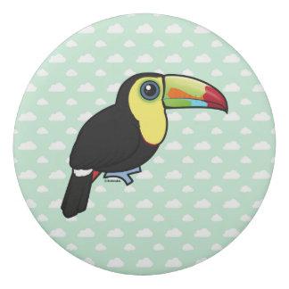 Birdorable Keel-billed Toucan Eraser