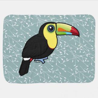 Birdorable Keel-billed Toucan Pramblankets