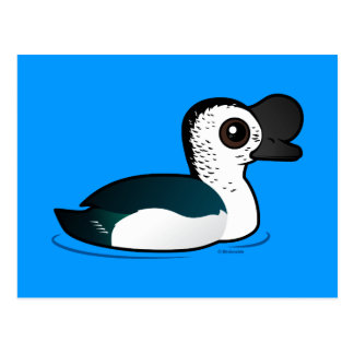 Birdorable Knob-billed Duck Postcard
