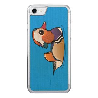 Birdorable Mandarin Duck Carved iPhone 7 Case