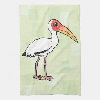 Birdorable Milky Stork Hand Towels