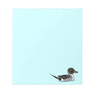 Birdorable Northern Pintail Notepad