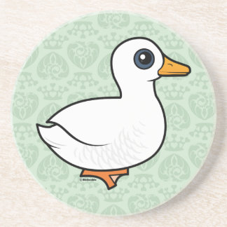 Birdorable Pekin Duck Coasters
