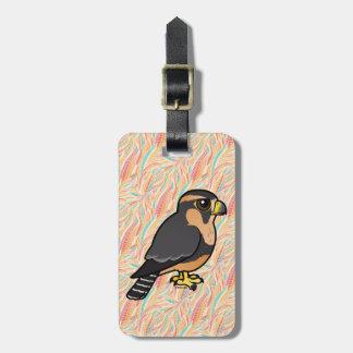 Birdorable Peruvian Aplomado Falcon Luggage Tag