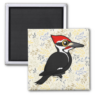 Birdorable Pileated Woodpecker Magnet