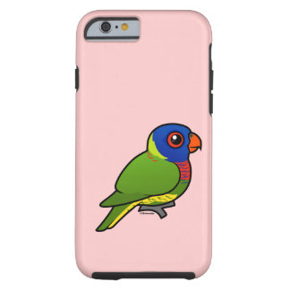 Birdorable Rainbow Lorikeet Tough iPhone 6 Case