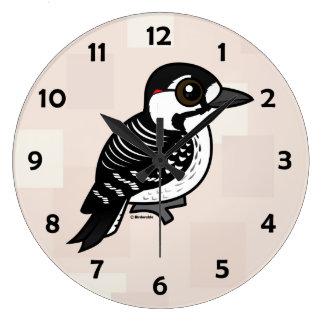 Birdorable Red-cockaded Woodpecker Large Clock