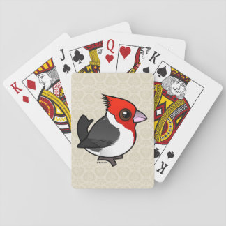 Birdorable Red-crested Cardinal Playing Cards