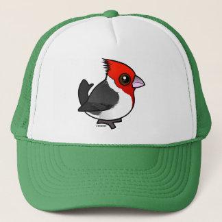 Birdorable Red-crested Cardinal Trucker Hat
