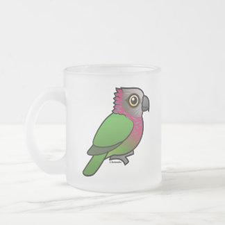 Birdorable Red-fan Parrot Coffee Mugs
