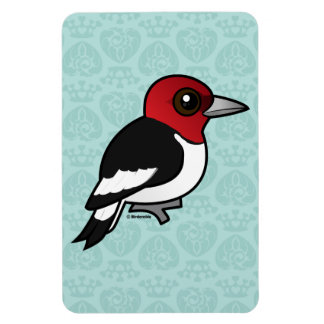 Birdorable Red-headed Woodpecker Magnet