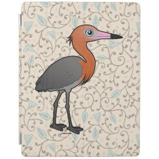 Birdorable Reddish Egret (dark morph) iPad Cover