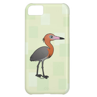 Birdorable Reddish Egret (dark morph) iPhone 5C Case