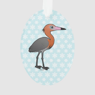 Birdorable Reddish Egret (dark morph) Ornament