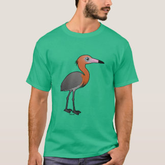 Birdorable Reddish Egret (dark morph) T-Shirt