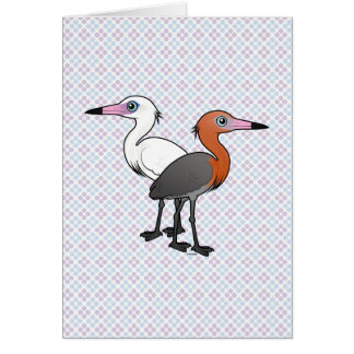 Birdorable Reddish Egrets Card