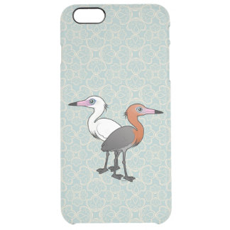 Birdorable Reddish Egrets Clear iPhone 6 Plus Case