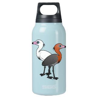 Birdorable Reddish Egrets Insulated Water Bottle