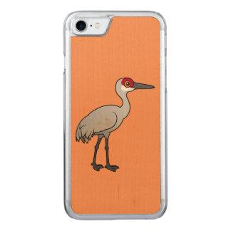 Birdorable Sandhill Crane Carved iPhone 8/7 Case
