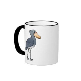 Birdorable Shoebill Coffee Mugs