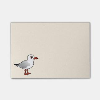 Birdorable Silver Gull Post-it Notes