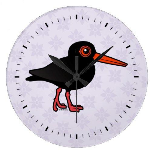 Birdorable Sooty Oystercatcher Wallclock
