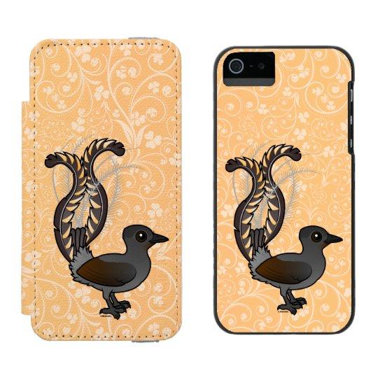 Birdorable Superb Lyrebird Incipio Watson™ iPhone 5 Wallet Case
