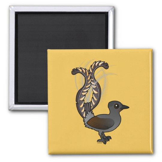Birdorable Superb Lyrebird Magnet